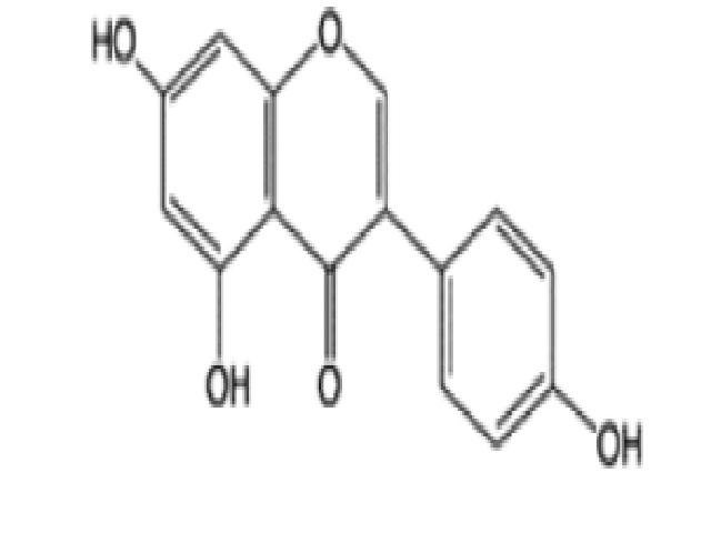 Structure of genistein.